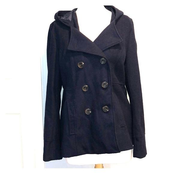 7c0db6b3b37 Aeropostale Jackets   Blazers - Aeropostale Hooded Pea coat XXL